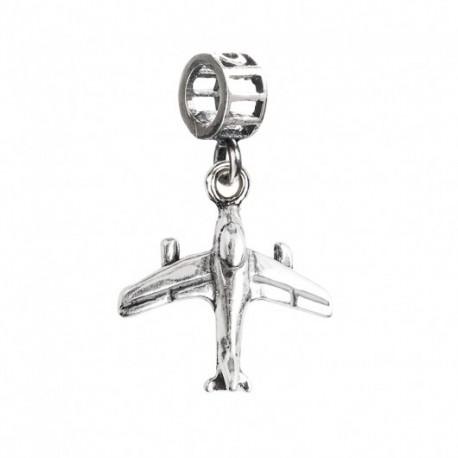 Tedora  - Charm in Argento 925 Aeroplano - RP036