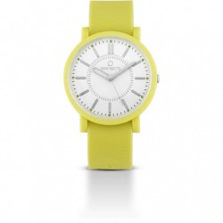 Ops Objects - Orologio Solo Tempo Uomo/Donna Giallo - OPSPOSH-05
