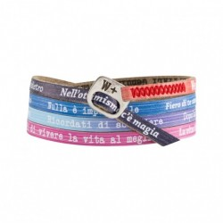 We Positive- Bracciale  Italians Multicolor -  IT004