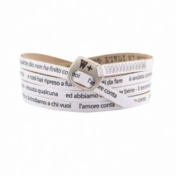 We Positive - Bracciale My Song Ligabue L'Amore Conta – MY432