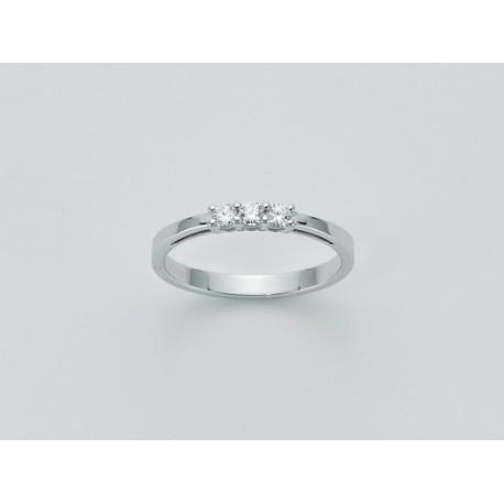 Miluna - Le Riviere Diamante Puro Anello - LID2347-015