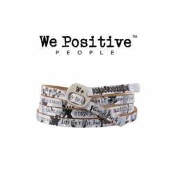 We Positive - Bracciale  Printed  - Camouflage Grigio - 209