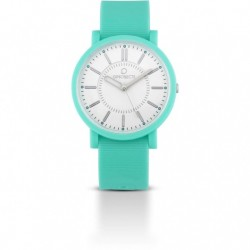 Ops Objects - Orologio Solo Tempo Uomo/Donna Verde Acqua - OPSPOSH-08