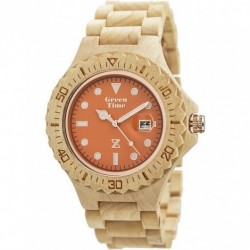 ZZERO  -  Orologio  Wood  Green Time  - ZW008B