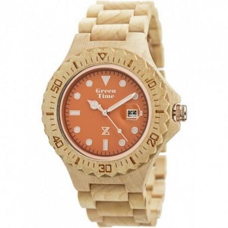 ZZERO  -  Orologio  Wood  Green Time  - ZW008B