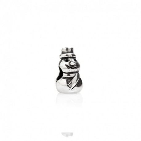 Tedora  - Charm in Argento 925 Pupazzo di Neve - TS039