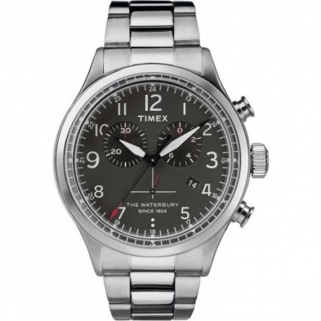 Timex - Orologio Cronografo Uomo  Waterbury Collection - TW2R38400