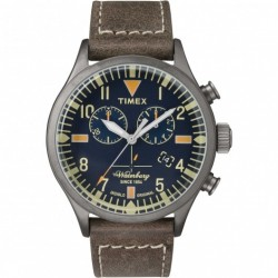 Timex  - Orologio Cronografo Uomo Waterbury  - TW2P84100
