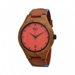 Zzero - Orologio Uomo Green Time Wood - ZW027D