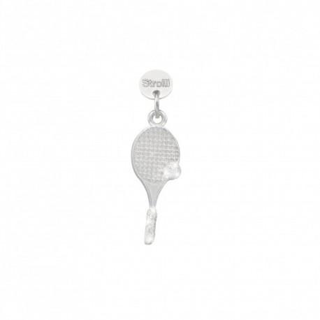 Stroili  - Charm in Argento 925 Rodiato e Glitter - Oltre La Rete - 1629604