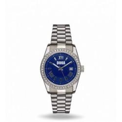 Dooa - Orologio Donna blu Acciaio Con Strass - OR08DW