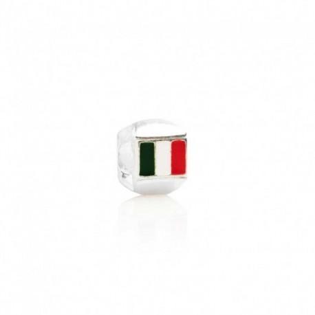 Tedora  - Charm in Argento 925 Bandiera Italia - LT014
