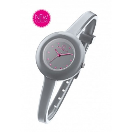 Ops Objects - Orologio Donna Cherie  Grigio - OPSPW-313