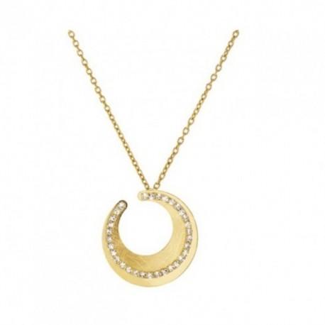 Stroili Oro - Collana  in Metallo  Con Cristalli - 1607900