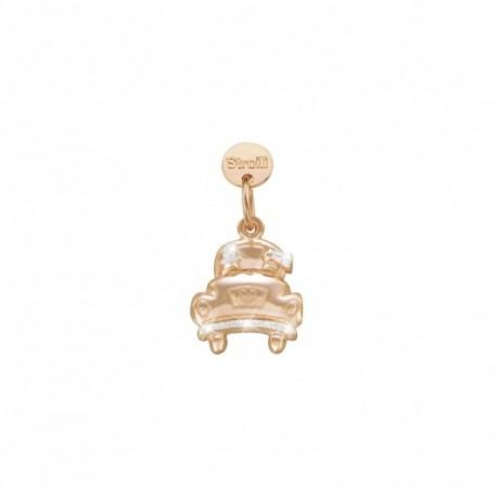 Stroili - Charm  in Argento 925 Rosè e Glitter -Un Si Per Sempre - 1629593