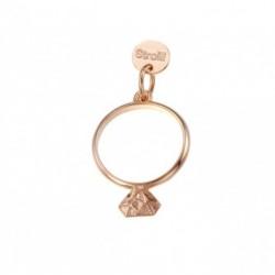 Stroili Love Beats Charm in Argento Rosè Diamantato - Si lo Voglio - 1623288