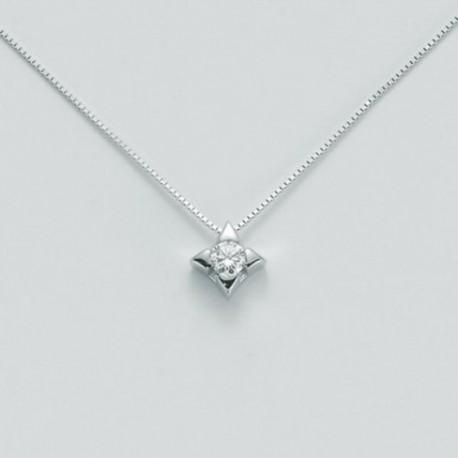 Miluna - Collana I Punti Luce Diamante Puro  - CLD2937-010
