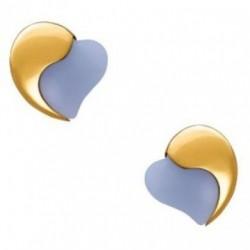 Morellato  -Orecchini   Cuori Gold Pietre Dure - HBN05