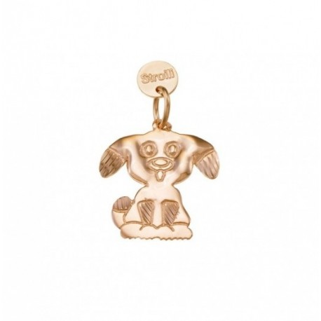 Stroili - Charms Love Beats Charm in Argento Rosè Diamantato - 1623316