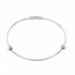 Stroili  - Bracciale Rigido in Argento Rodiato Love Beats - 1623221