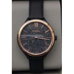 Fossil - Orologio Donna Pelle Nera - BQ3177
