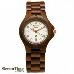 Zzero - Orologio Donna Green Time Round Collection - ZW009A