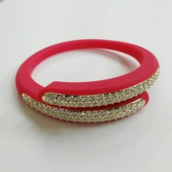Ops Objects - Bracciale Donna Diamond Rosso - OPSBR-338