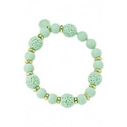 Ops Objects - Bracciale Donna Boule Chic Verde - OPSBR-266