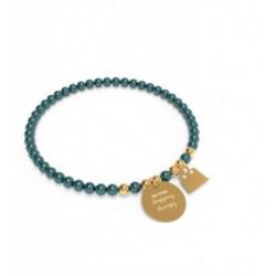 10 Buoni Propositi - Bracciale Bon Bon Gold, Da Oggi Shopping Therapy - B5102GO/PE