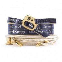 We Positive - Bracciale  Nice- Colore Blu - NI504