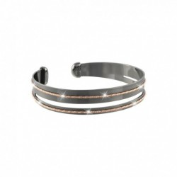 Stroili  - Bracciale Bangle Small in Bronzo Bicolore - 1627704