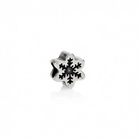 Tedora  - Charm in Argento 925 Fiocco di Neve  - BV296