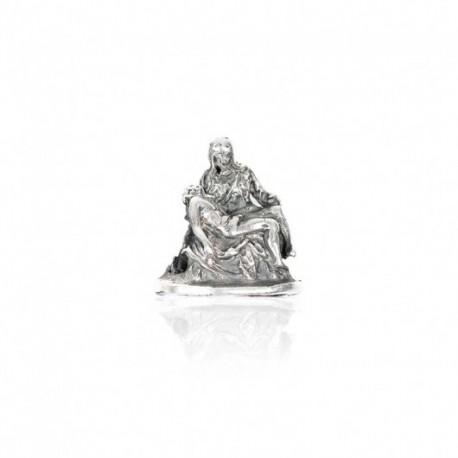 Tedora - Charm  in Argento 925 La Pietà di Michelangelo  - BV357