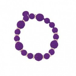 Ops Objects - Bracciale Donna Gioielli Boule Chic Viola - OPSBR-264