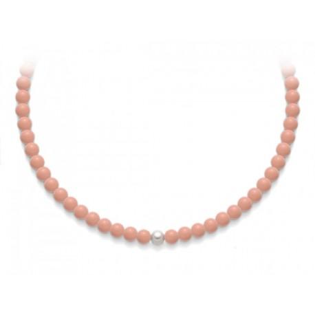 Collana Miluna in oro con perle Terra e Mare PCL4821