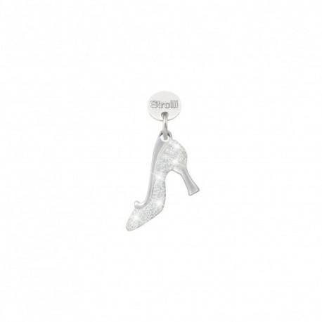 Charm Stroili in argento 925 rodiato e glitter - Principe azzurro cercasi - 1629615