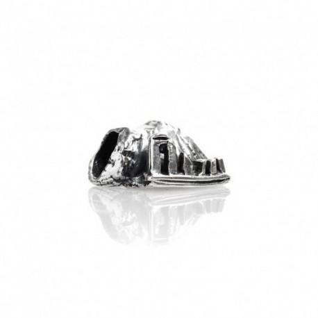 Charm Tedora in argento 925 Vesuvio e le rovine  TS 085