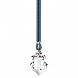 Collana Zancan con ancora in argento - EXC447-AV
