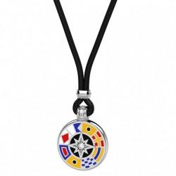 Collana Zancan con pendaglio in argento tondo - EXC399