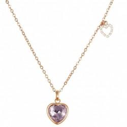 Girocollo Stroili in metallo rodiato e pietre colore Candy - 1657489