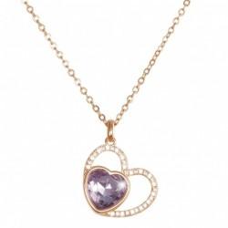 Girocollo Stroili in metallo rodiato e pietre colore Candy - 1657490