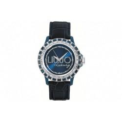 Liu jo - Orologio Donna Luxury Baugette Blu Cinturino Pelle - Tlj163