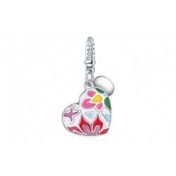 Rosato - Charm  My Secret cuore apribile smaltato - RSE037