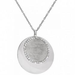 Stroili Oro - Collana Collana in metallo rodiato con cristalli - 1607903