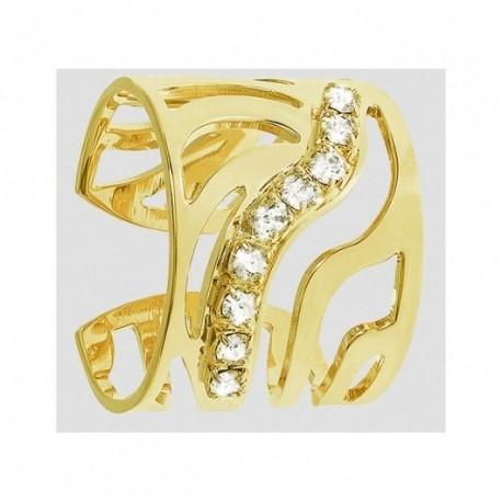 Anello STROILI ORO in metallo dorato e zirconi 1602923