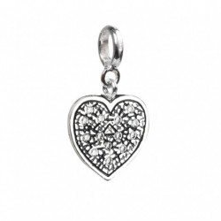 Tedora  - Charm in Argento 925 Cuore - RS006