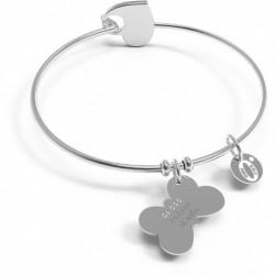 """10 Buoni Propositi  - Bracciale Bangle Heart Icon """"DA OGGI INSIEME SI VOLA"""" - B5159"""