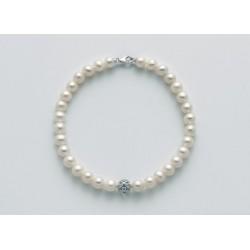 Miluna - Bracciale Perle e Oro Bianco - PBR2764