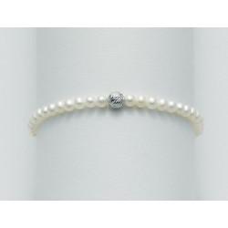 Miluna - Bracciale Perle e Oro Bianco - PBR1563X