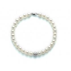 Bracciale Miluna con perle e Oro - PBR2307B